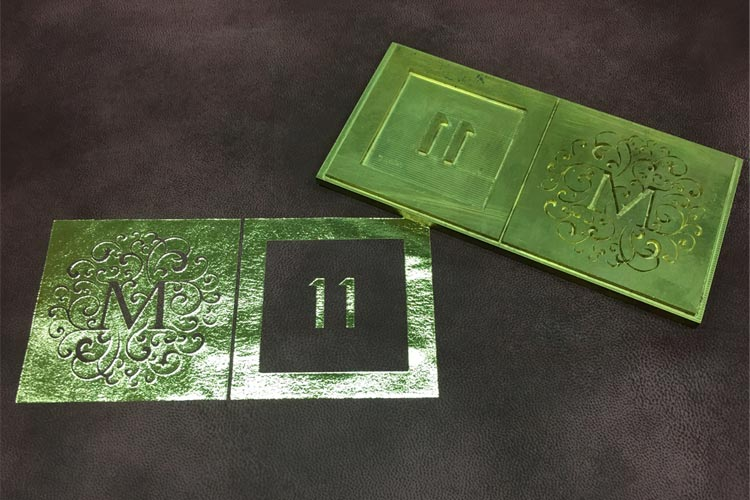 </p> <h4>Embossed printing with your own logo